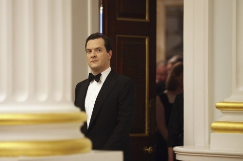 Britain's Chancellor of the Exchequer George Osborne attends the Lord Mayor's Dinner For The Bankers And Merchants Of The City of London